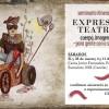 """Seminario de expresiones teatrales y los talleres del Colectivo Teatral Vuelos en """"La Vil Materia"""""""