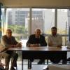 Reunión de trabajo entre en Defensor del Pueblo y el Director de la Región Morón del Instituto de Obra Médico Asistencial