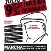 Marcha a 9 años de la desaparición de Jorge Julio López