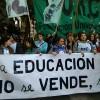 """""""La marcha de las universidades fue un hecho político de gran envergadura"""""""