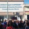 Estudiantes de Morón se movilizan en defensa de la educación púbica