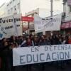 Con múltiples reclamos, el Frente de Estudiantes del Oeste recorrió las calles de Morón