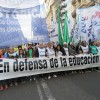Marcha de antorchas en defensa de la Universidad Pública