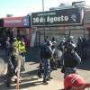 Fuerte operativo policial para desalojar a trabajadores callejeros en Morón