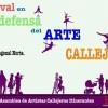 Se realizará un festival en Defensa del Arte Callejero