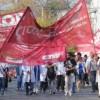 Trabajadores de la salud realizan una jornada provincial de lucha