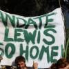 Masiva movilización contra el loteo de tierras en El Bolsón