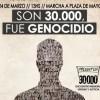 """Organismos sobre los 30 mil desaparecidos: """"Existen datos que avalan esa cifra"""""""