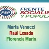"""Precandidata del Frente Socialista y Popular: """"La gestión de Tagliaferro es malísima"""""""