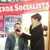 """Calvetti: """"estamos muy contentos porque se consolida el Frente de Izquierda"""""""