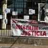 Movilización a los Tribunales de Morón por la desaparición de Rosa Toledo