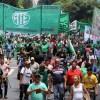 Trabajadores estatales realizaron un paro nacional contra el ajuste en el sector