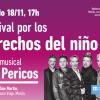 Los Pericos se presentarán en el Festival por los derechos del niño en Morón
