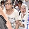 #StopFlyBondi: Nora Cortiñas pidió la protección de la Base Aérea de El Palomar como sitio de memoria