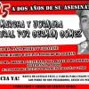 Marcha a dos años del asesinato de Germán Gómez en Merlo