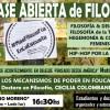 Clase pública en Moreno en defensa del dictado de materias de humanidades en secundarias