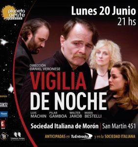 Teatro: Vigilia de noche en Morón