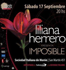 Liliana Herrero en Morón!