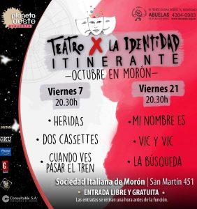 Teatro X La Identidad: Dos Cassettes