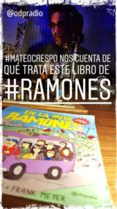 #LibrosDelRock Ramones